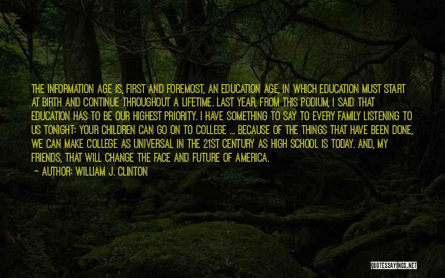 William J. Clinton Quotes 819399