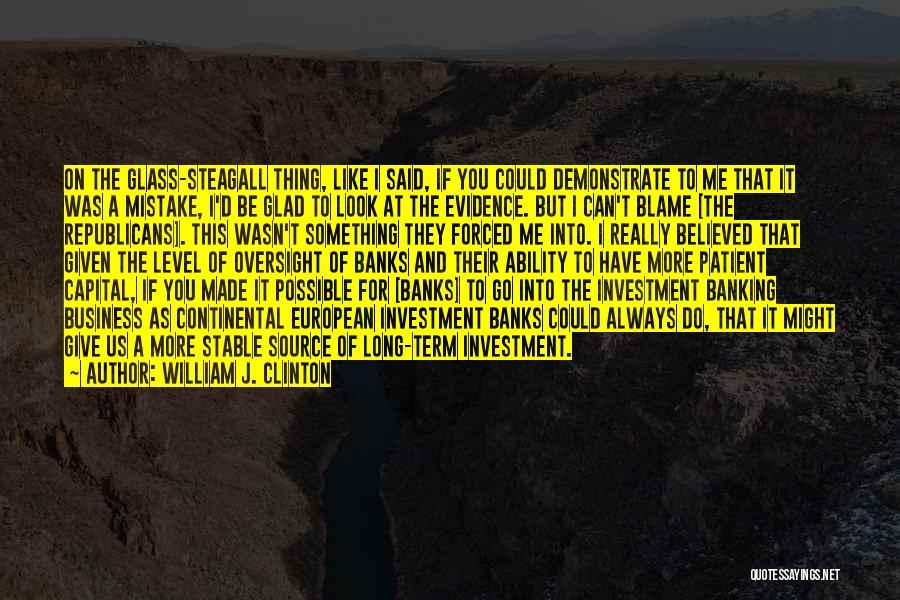 William J. Clinton Quotes 913313