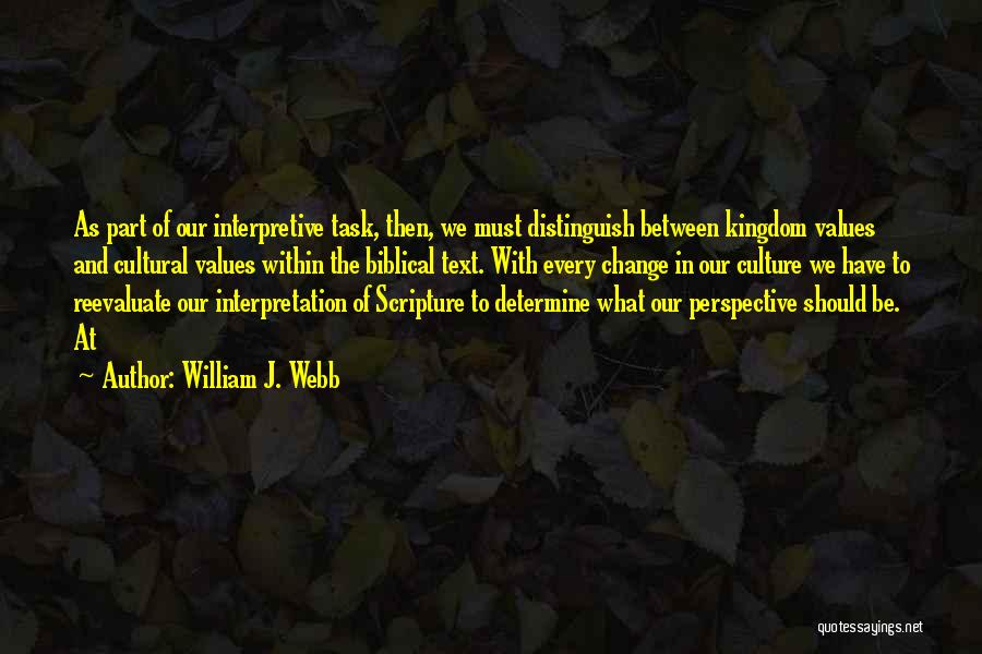 William J. Webb Quotes 1370921