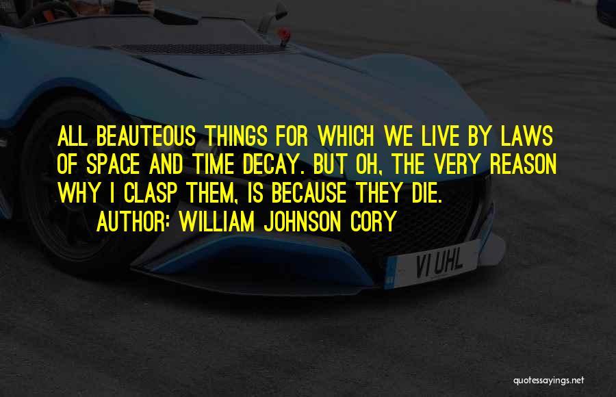 William Johnson Cory Quotes 1660106