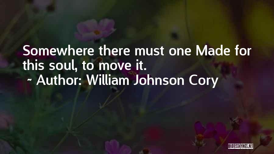 William Johnson Cory Quotes 1859725