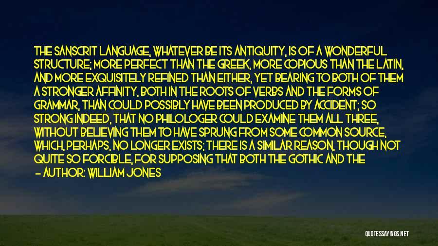 William Jones Quotes 1172008