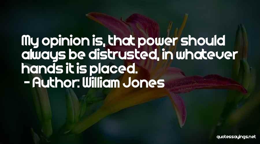 William Jones Quotes 1427751
