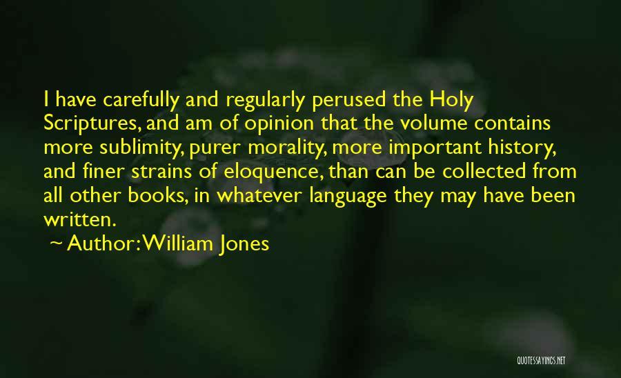 William Jones Quotes 1938680