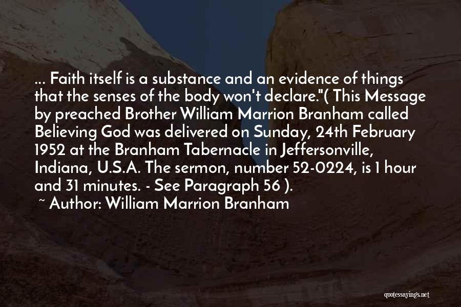 William Marrion Branham Famous Quotes & Sayings