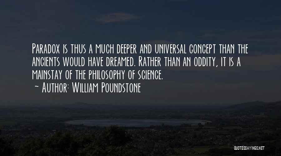 William Poundstone Quotes 207238