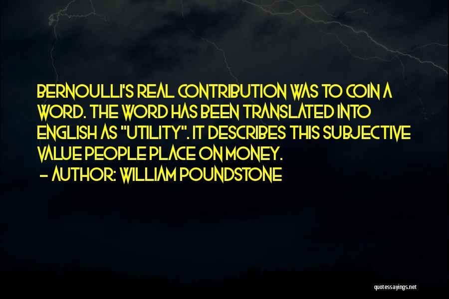 William Poundstone Quotes 2102781