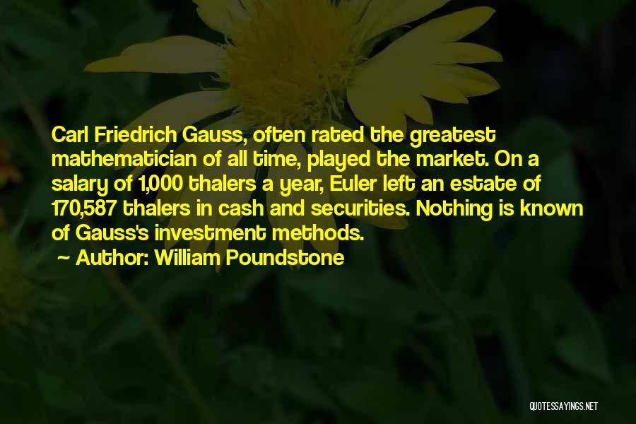William Poundstone Quotes 250143