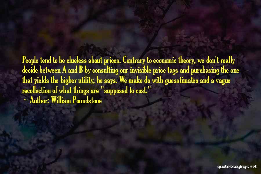 William Poundstone Quotes 256767