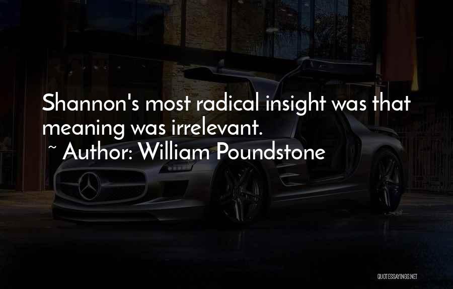 William Poundstone Quotes 317122