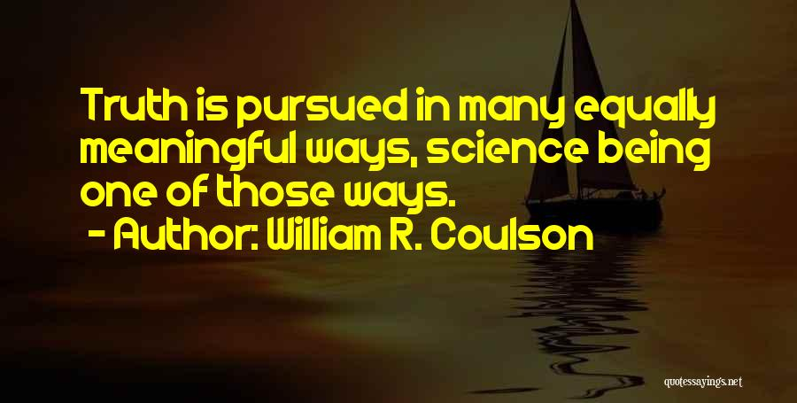 William R. Coulson Quotes 2071769
