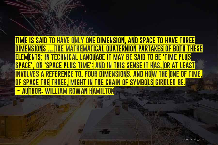 William Rowan Hamilton Quotes 1540254