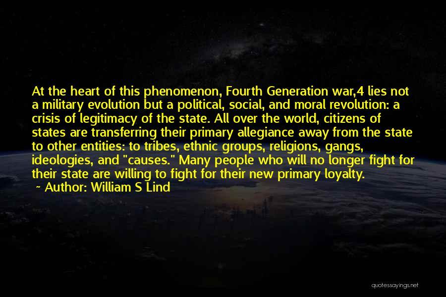 William S Lind Quotes 994707
