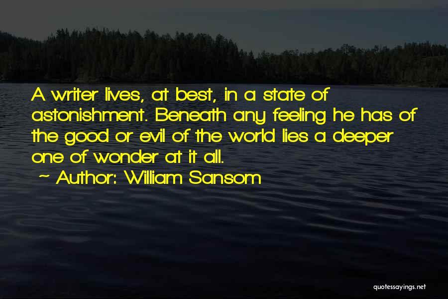 William Sansom Quotes 1260305