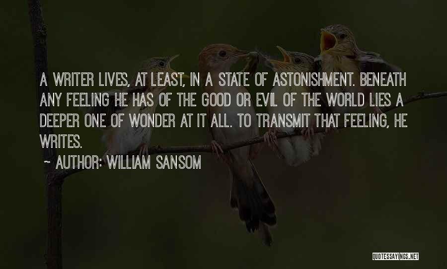 William Sansom Quotes 314248