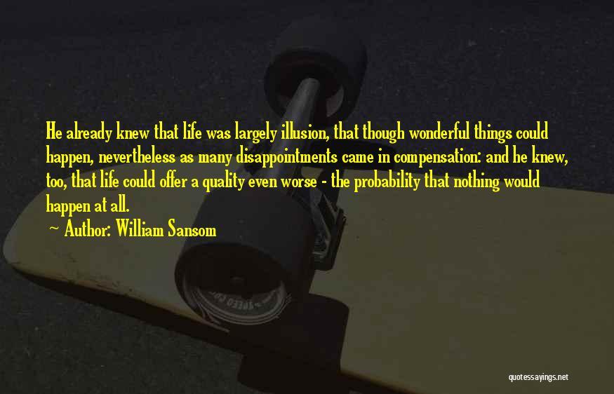 William Sansom Quotes 339081