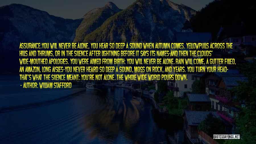 William Stafford Quotes 1396146