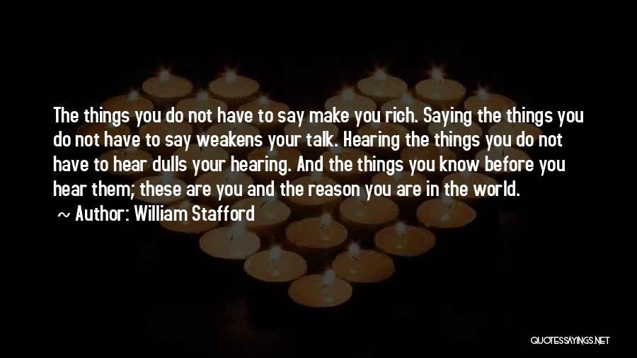 William Stafford Quotes 1597197