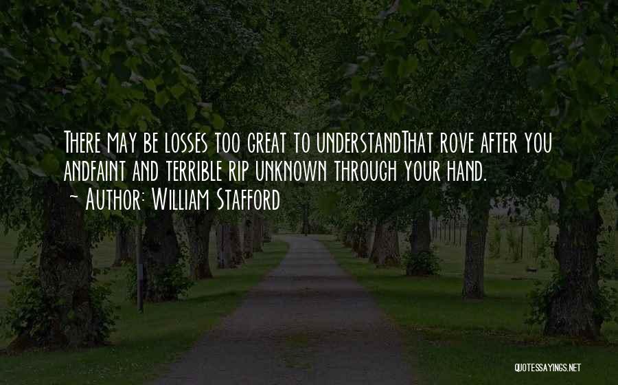 William Stafford Quotes 1727781