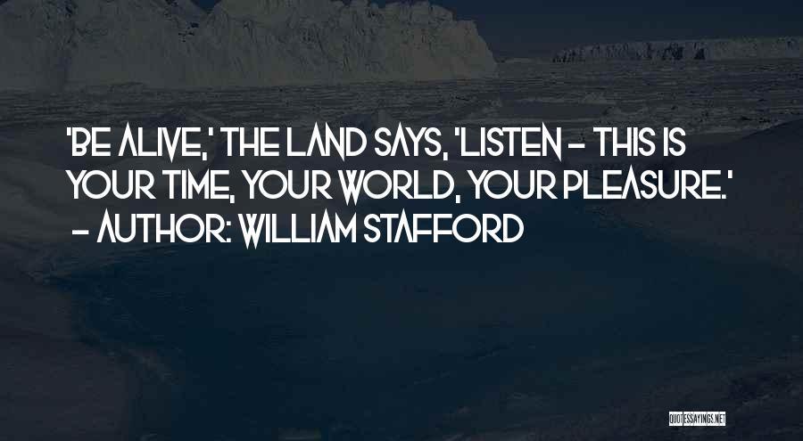 William Stafford Quotes 1770813