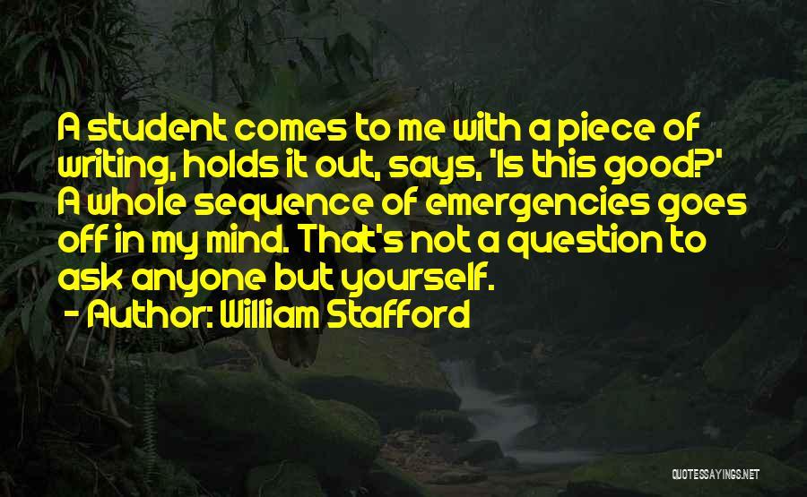 William Stafford Quotes 1780102