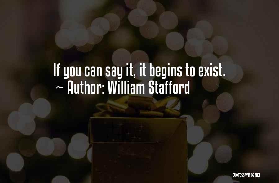 William Stafford Quotes 1952299