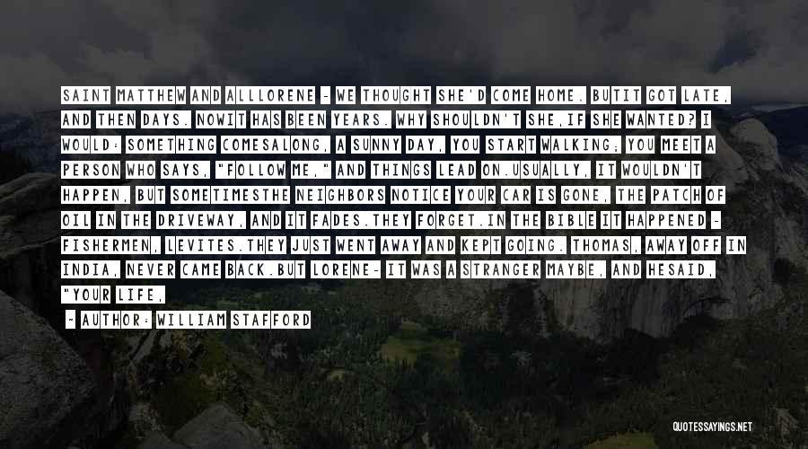 William Stafford Quotes 2240775
