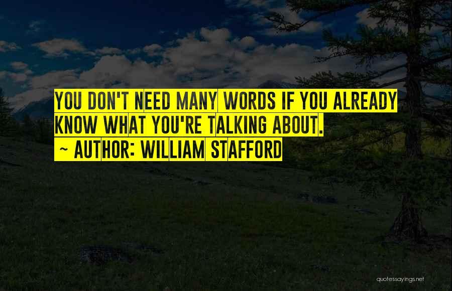 William Stafford Quotes 347184