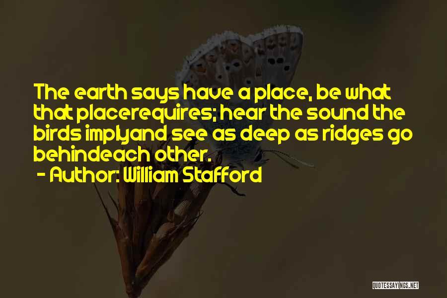 William Stafford Quotes 439160