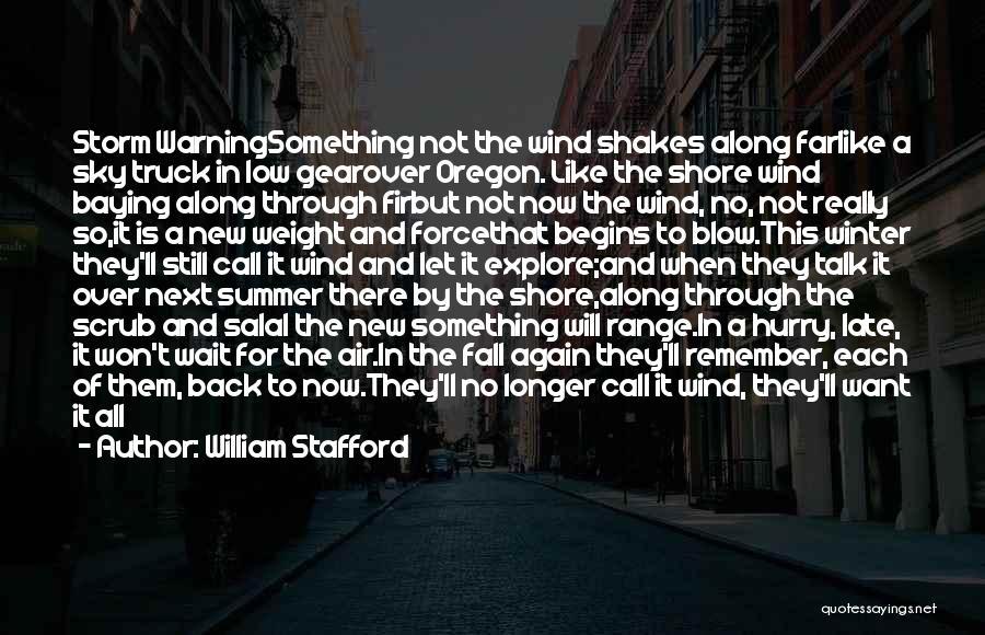 William Stafford Quotes 706839