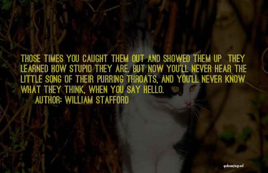 William Stafford Quotes 718784