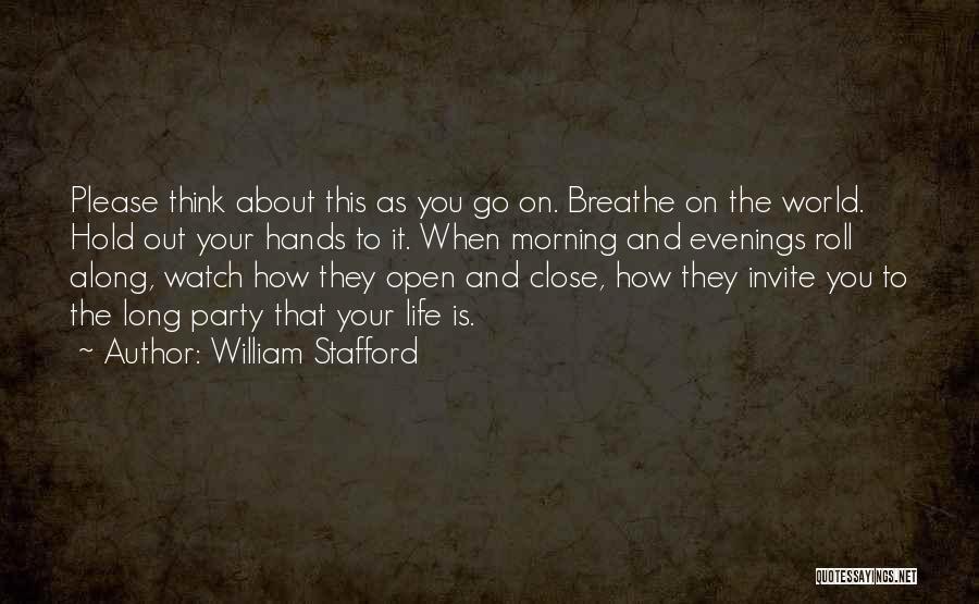 William Stafford Quotes 756875