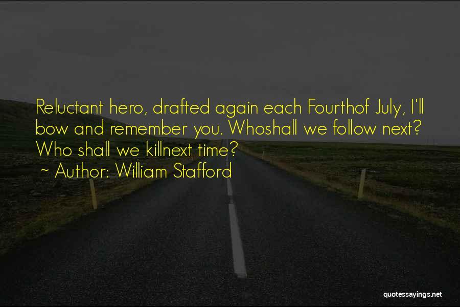 William Stafford Quotes 811212