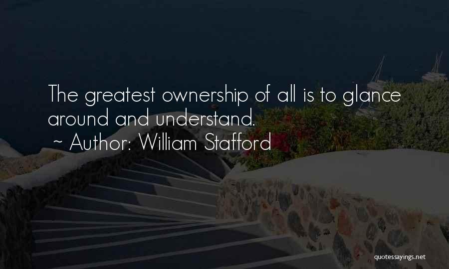 William Stafford Quotes 880857