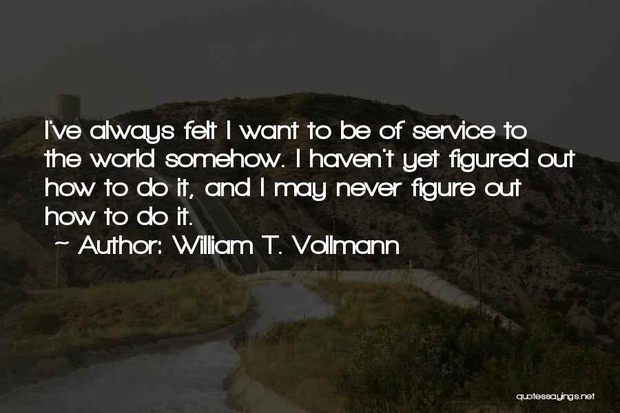 William T. Vollmann Quotes 78964