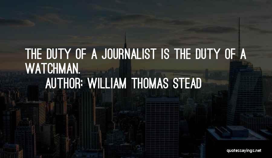 William Thomas Stead Quotes 1457926
