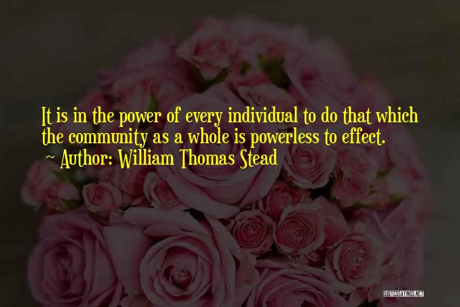 William Thomas Stead Quotes 448983