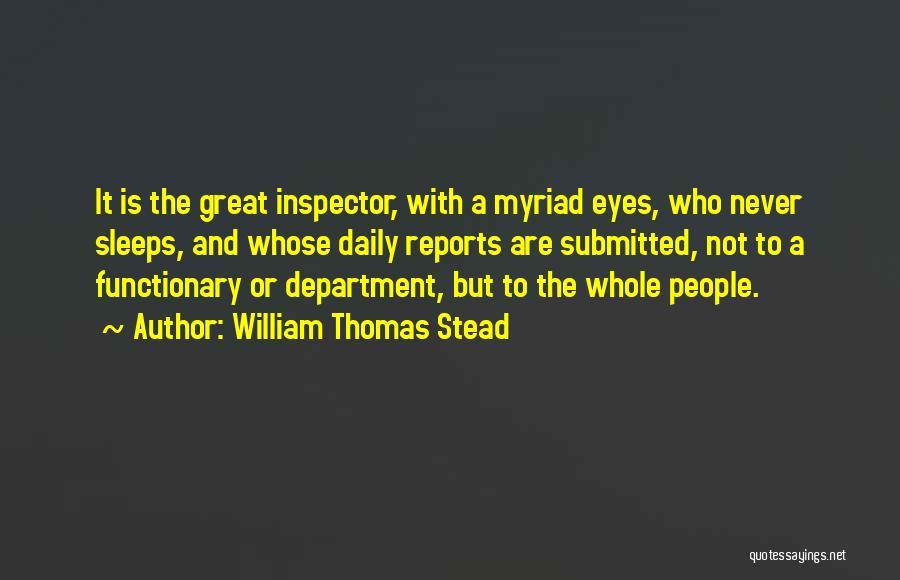 William Thomas Stead Quotes 558457