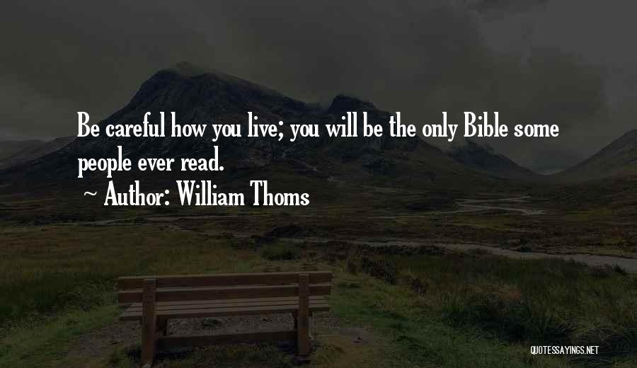 William Thoms Quotes 1559237