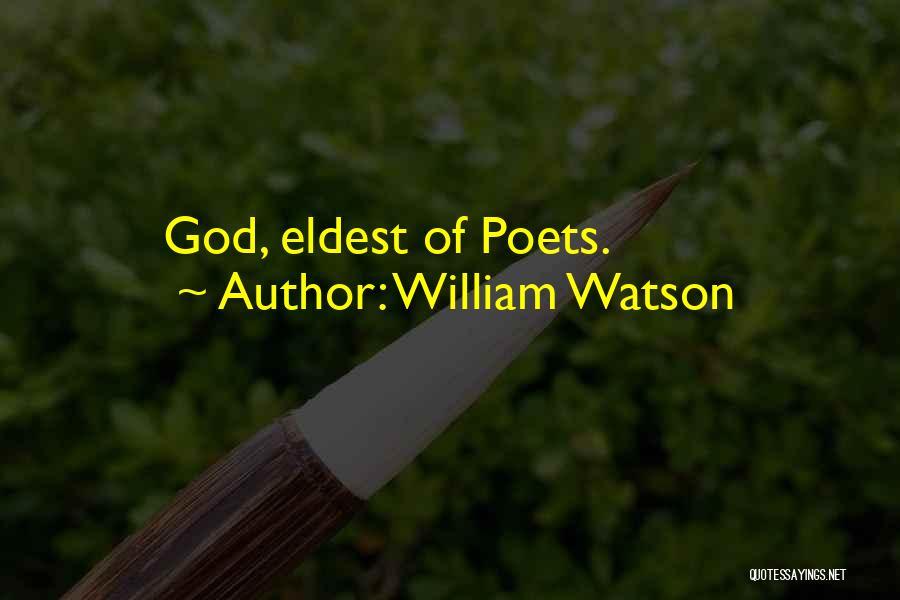 William Watson Quotes 1577988
