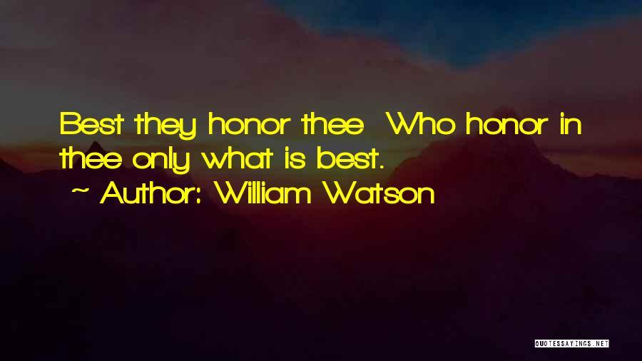 William Watson Quotes 2266738