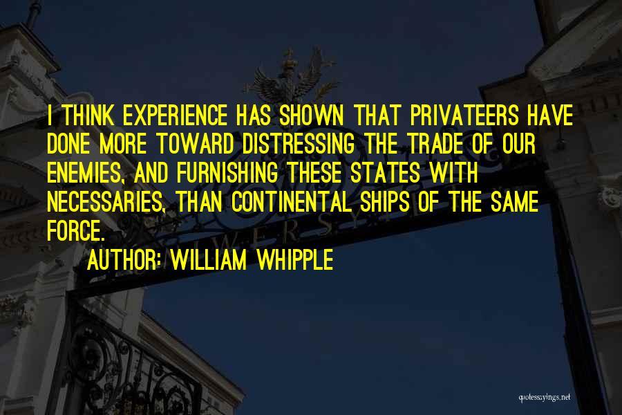 William Whipple Quotes 1363270