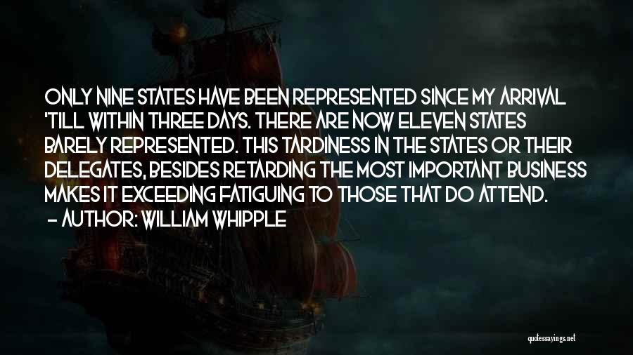 William Whipple Quotes 1617621