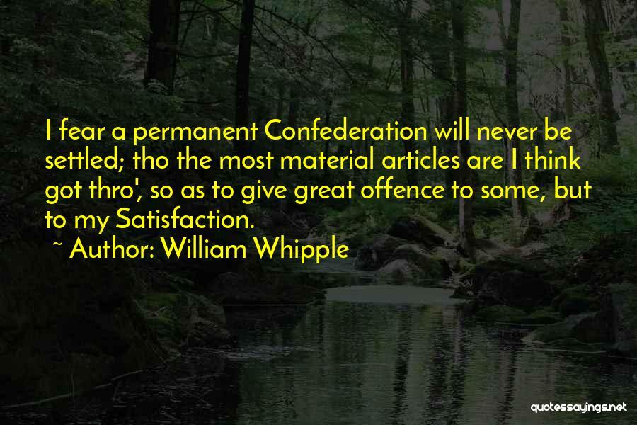 William Whipple Quotes 1900596