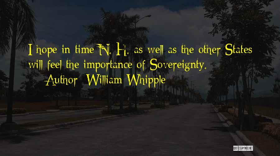 William Whipple Quotes 535582