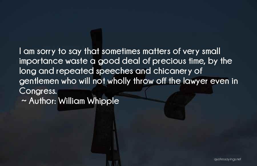 William Whipple Quotes 658155