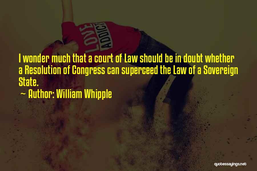 William Whipple Quotes 818128