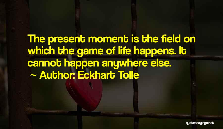 Willing Things To Happen Quotes By Eckhart Tolle