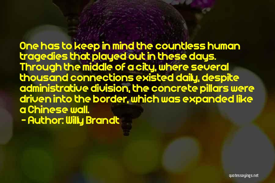Willy Brandt Quotes 649023