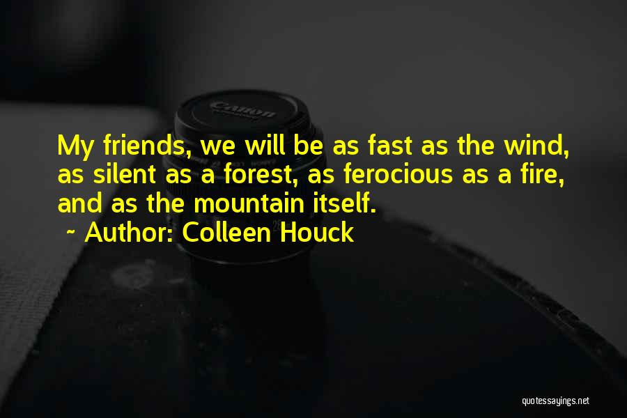 Wind And Friends Quotes By Colleen Houck